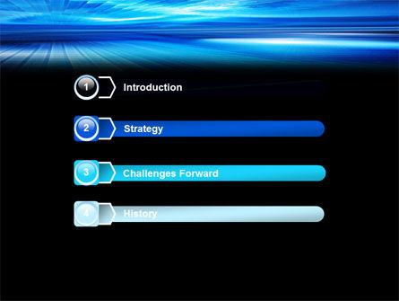 Deep Blue Horizon PowerPoint Template Slide 3