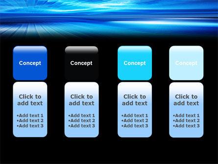 Deep Blue Horizon PowerPoint Template Slide 5
