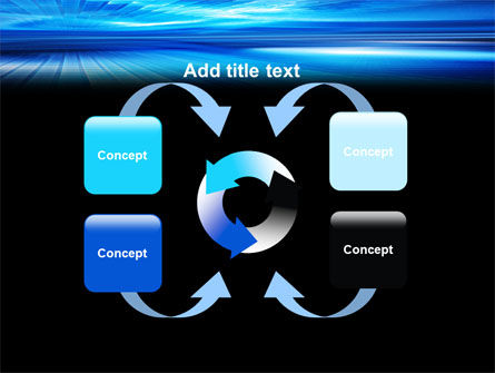 Deep Blue Horizon PowerPoint Template Slide 6