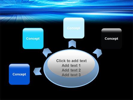 Deep Blue Horizon PowerPoint Template Slide 7