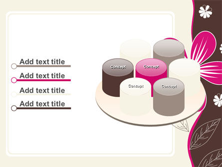 Fuchsia Flower PowerPoint Template Slide 12