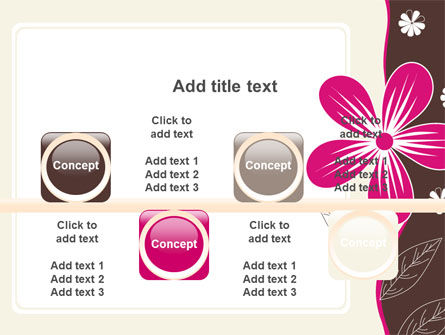 Fuchsia Flower PowerPoint Template Slide 18