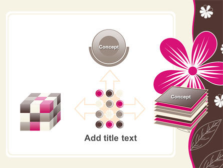 Fuchsia Flower PowerPoint Template Slide 19