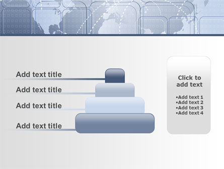 World Communication Routes PowerPoint Template Slide 8
