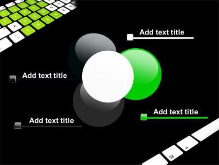 New Year Keyboard PowerPoint Template Slide 10