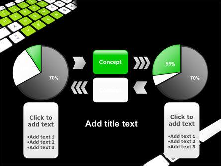 New Year Keyboard PowerPoint Template Slide 11