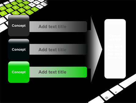 New Year Keyboard PowerPoint Template Slide 12