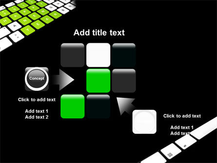 New Year Keyboard PowerPoint Template Slide 16