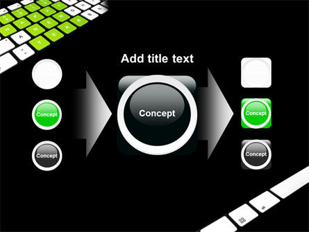 New Year Keyboard PowerPoint Template Slide 17