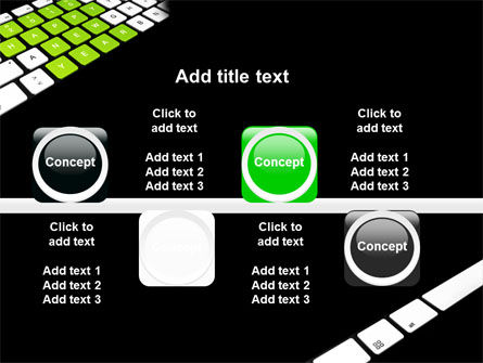 New Year Keyboard PowerPoint Template Slide 19