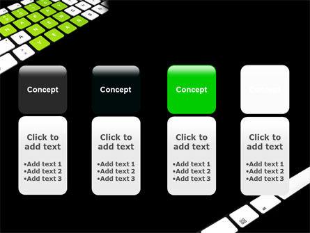 New Year Keyboard PowerPoint Template Slide 5