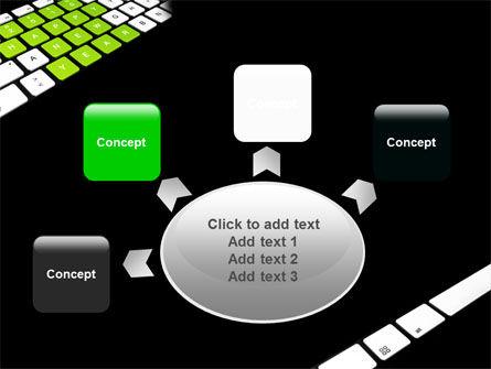 New Year Keyboard PowerPoint Template Slide 7