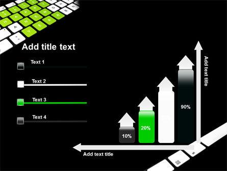 New Year Keyboard PowerPoint Template Slide 8