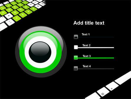 New Year Keyboard PowerPoint Template Slide 9