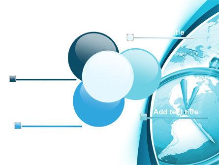Clock Aqua Free PowerPoint Template Slide 10