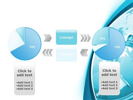 Free Clock Aqua PowerPoint Template Slide 11