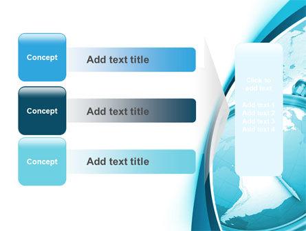 Free Clock Aqua PowerPoint Template Slide 12