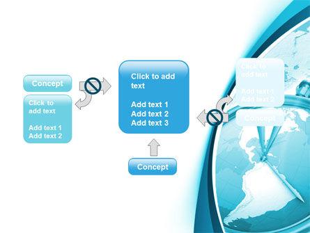 Free Clock Aqua PowerPoint Template Slide 13