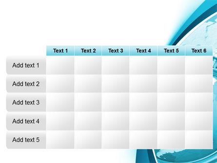 Free Clock Aqua PowerPoint Template Slide 15