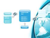 Clock Aqua Free PowerPoint Template#13