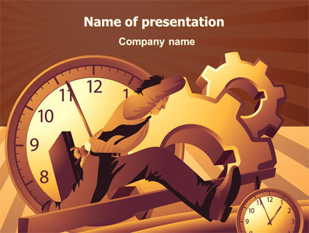 Business Rush Hour PowerPoint Template