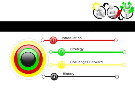 Idea Implementation Plan PowerPoint Template Slide 3