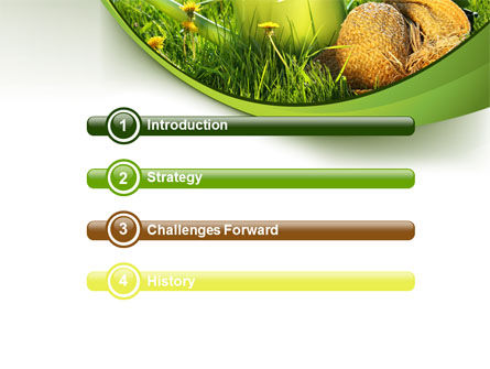 Watering Pot PowerPoint Template Slide 3