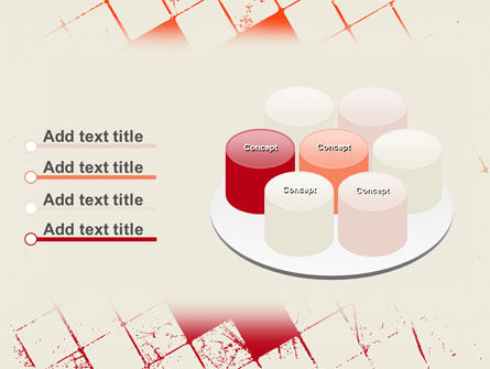Red Squared PowerPoint Template Slide 12