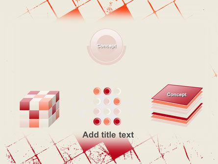 Red Squared PowerPoint Template Slide 19
