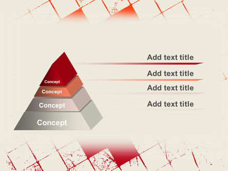 Red Squared PowerPoint Template Slide 4