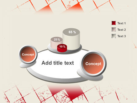 Red Squared PowerPoint Template Slide 6