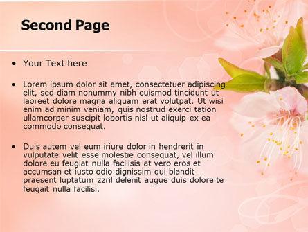 Peach Colored PowerPoint Template, Slide 2, 07380, Nature & Environment — PoweredTemplate.com