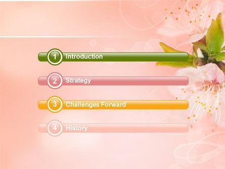 Peach Colored PowerPoint Template, Slide 3, 07380, Nature & Environment — PoweredTemplate.com