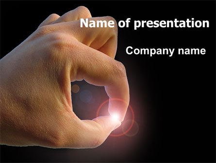 Tiny Thing PowerPoint Template, 07381, Business Concepts — PoweredTemplate.com