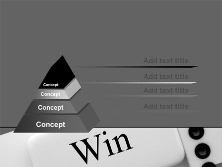 Win Domino PowerPoint Template Slide 12