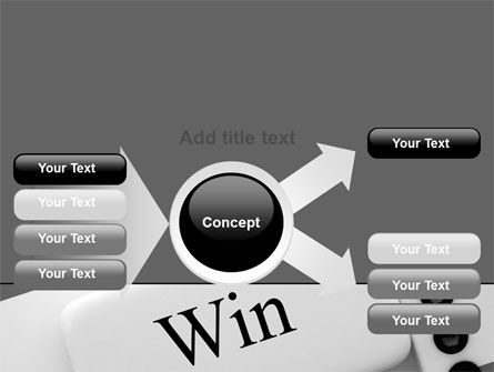 Win Domino PowerPoint Template Slide 14