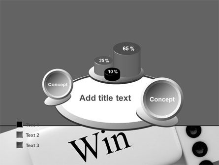 Win Domino PowerPoint Template Slide 16