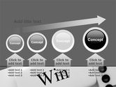 Win Domino PowerPoint Template#13