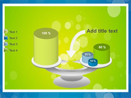 Aqua-Green Frame PowerPoint Template Slide 10