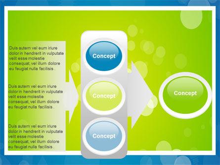 Aqua-Green Frame PowerPoint Template Slide 11
