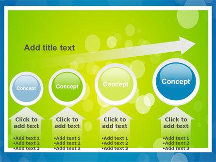 Aqua-Green Frame PowerPoint Template Slide 13