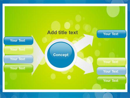 Aqua-Green Frame PowerPoint Template Slide 14