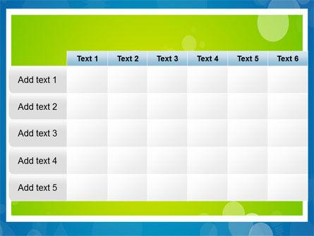 Aqua-Green Frame PowerPoint Template Slide 15