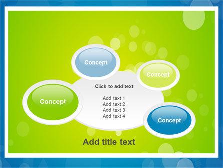 Aqua-Green Frame PowerPoint Template Slide 16