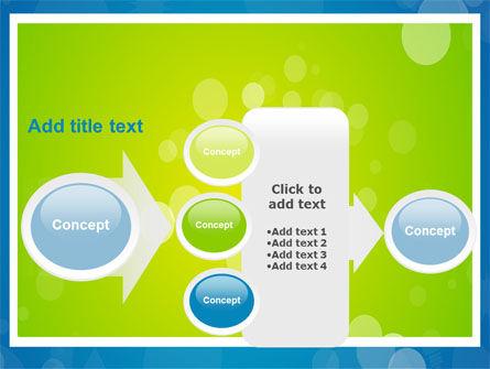 Aqua-Green Frame PowerPoint Template Slide 17