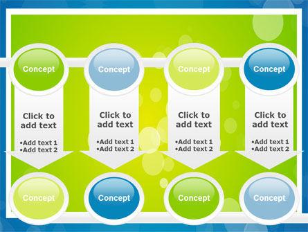 Aqua-Green Frame PowerPoint Template Slide 18