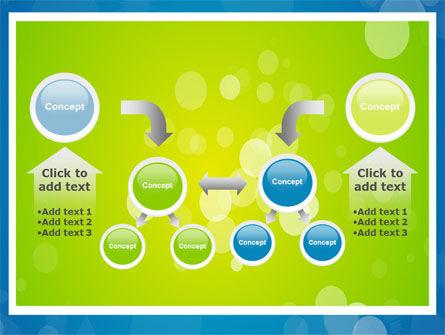 Aqua-Green Frame PowerPoint Template Slide 19