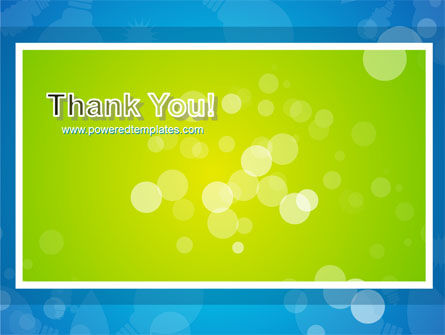 Aqua-Green Frame PowerPoint Template Slide 20