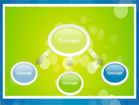 Aqua-Green Frame PowerPoint Template, Slide 4, 07385, Abstract/Textures — PoweredTemplate.com