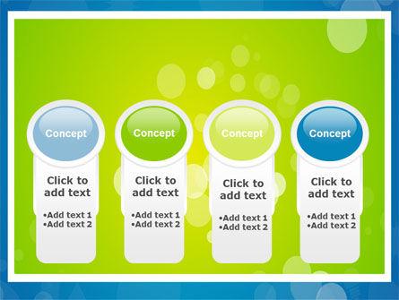 Aqua-Green Frame PowerPoint Template Slide 5
